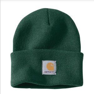 Carhartt Knit Cuffed Beanie+North Woods+New+Bright Hunter Green+NWT